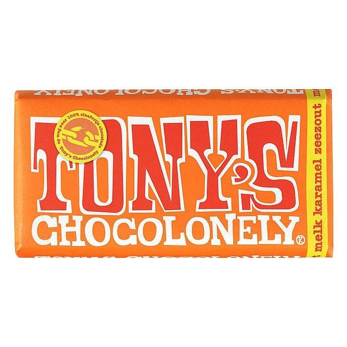 Tony's Chocolonely | Melk Karamel Zeezout | 15 stuks