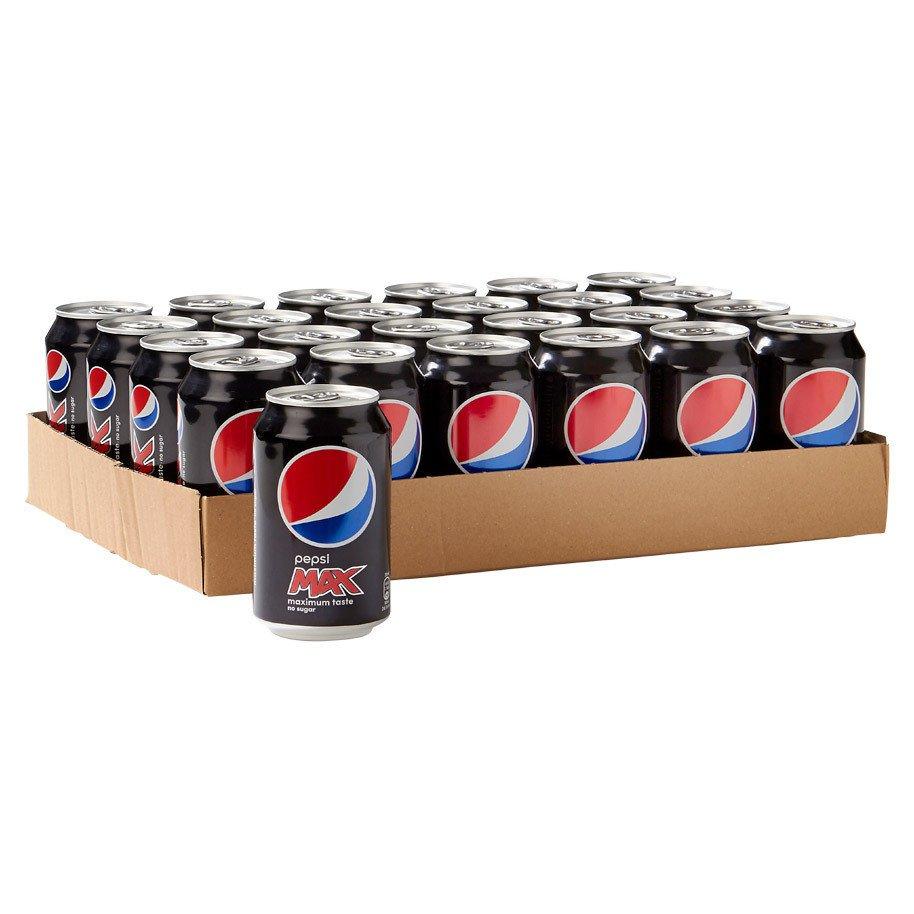 Pepsi Max | Blik 24 x 33 cl