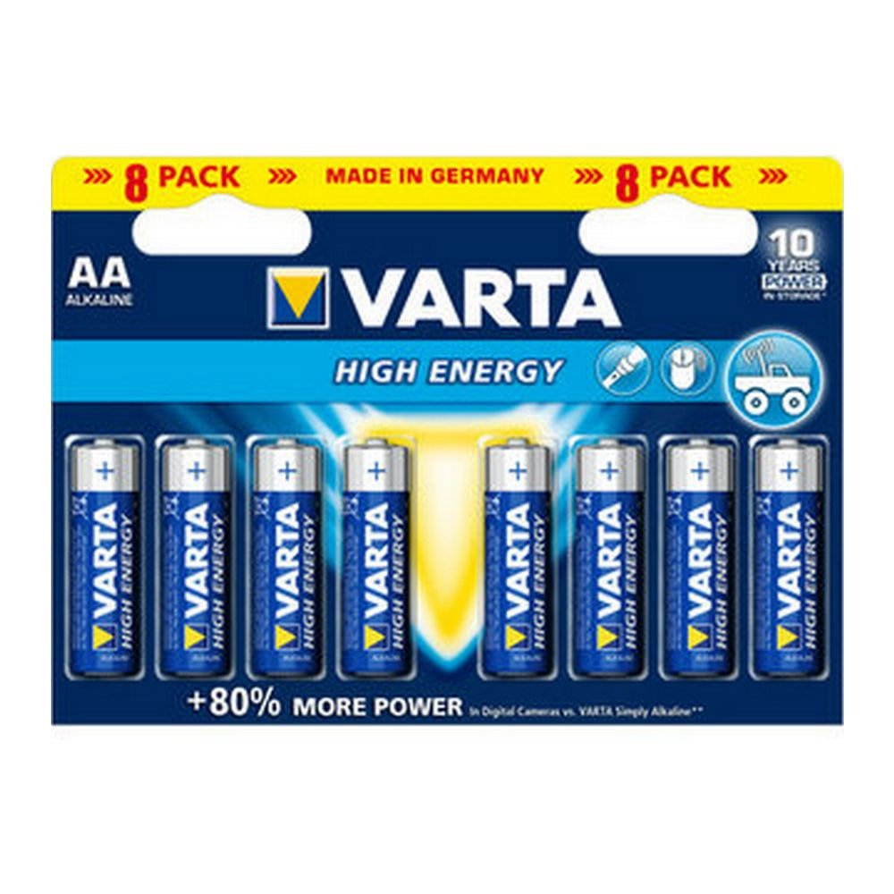 Varta   High Energy AA   20 x 8 stuks