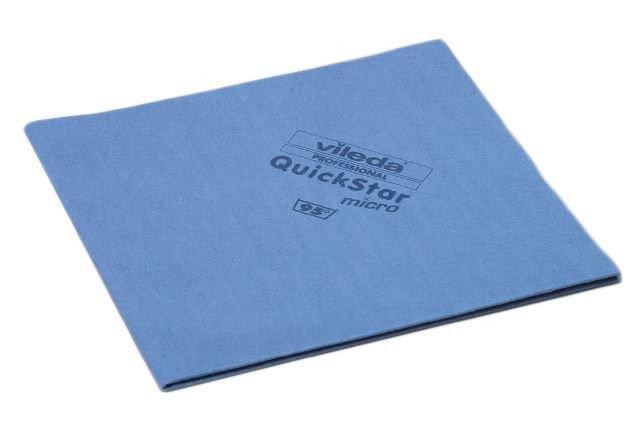 Vileda | Quickstar | Microvezeldoek | Blauw | 5 stuks