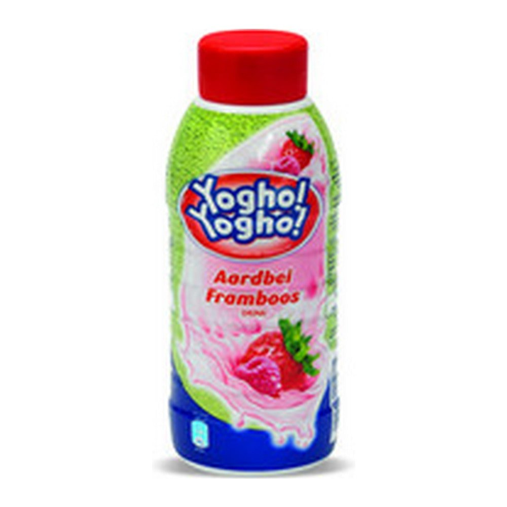 Yogho Yogho Aardbei Framboos | Petfles 12 x 0,5 liter