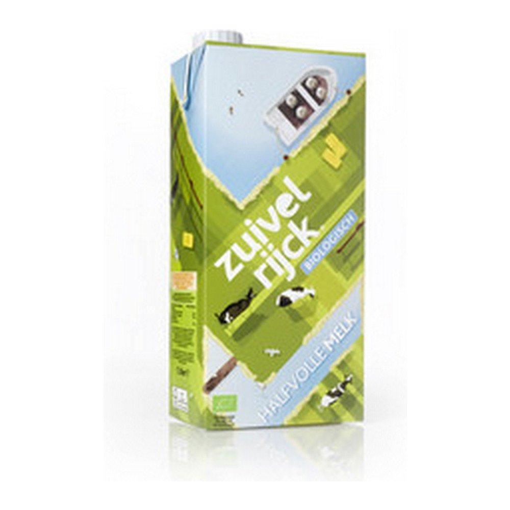 Zuivelrijck biologische | Halfvolle melk | Pak 12 x 1 liter