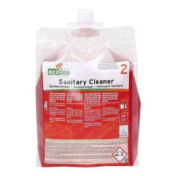 Ecodos   Sanitairreiniger zuur   Flacon 3 x 1,8 liter