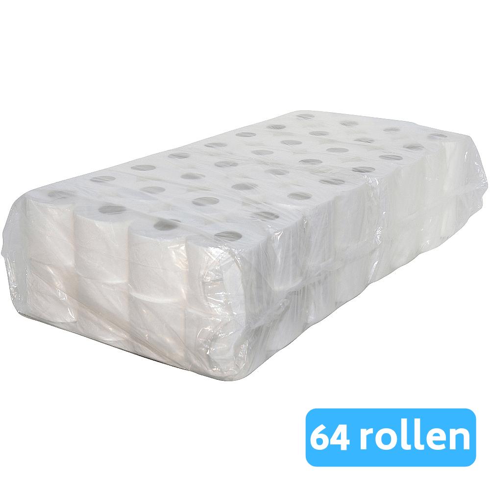 Toiletpapier 3-laags Supersoft 64 x 250 vel
