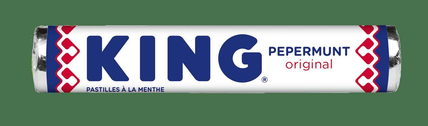King | Pepermunt | Doos 36 stuks