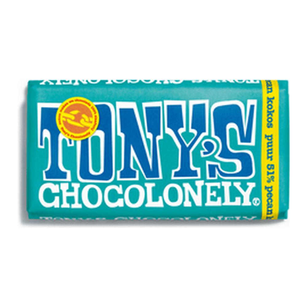 Tony's Chocolonely | Pecan Kokos | 15 repen