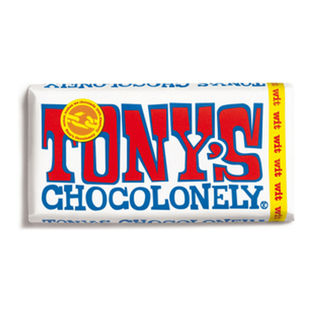 Tony's Chocolonely | Wit | 15 repen