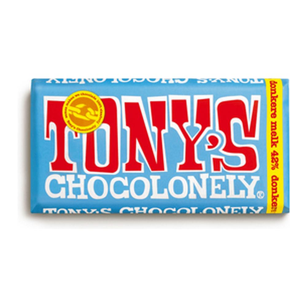 Tony's Chocolonely | Donkere Melk 42% | 15 repen