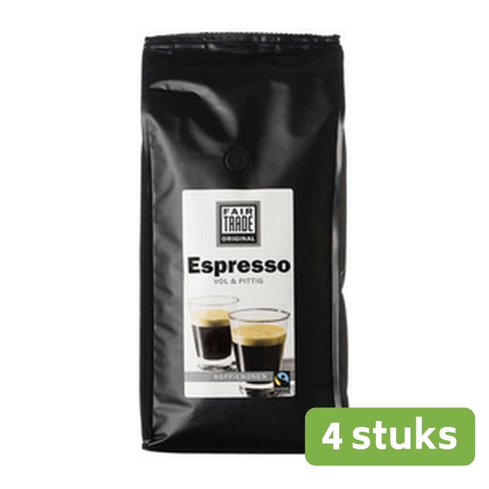 Fair | Fairtrade Original Espresso bonen | 8 x 900 gram