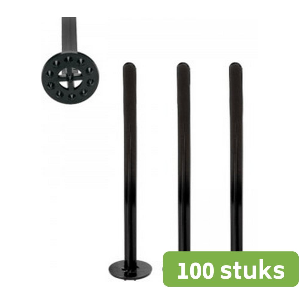 Tonic Stampers zwart zak 100 stuks