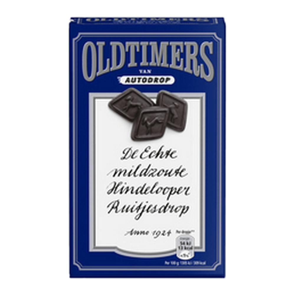 Oldtimers Mildzoute Hindeloper Ruitjesdrop 235 gr 6 stuks
