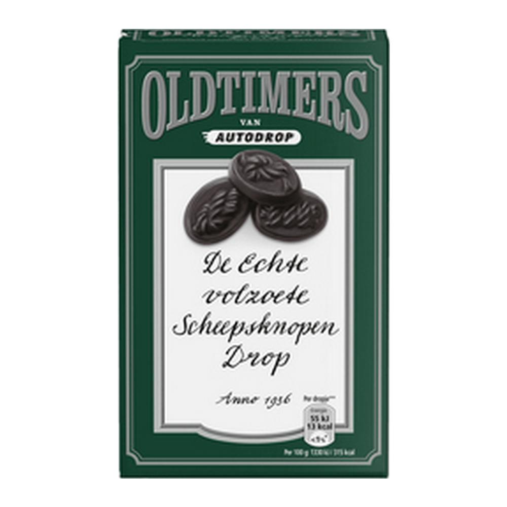 Oldtimers Scheepsknopen Drop 235 gr 6 doosjes