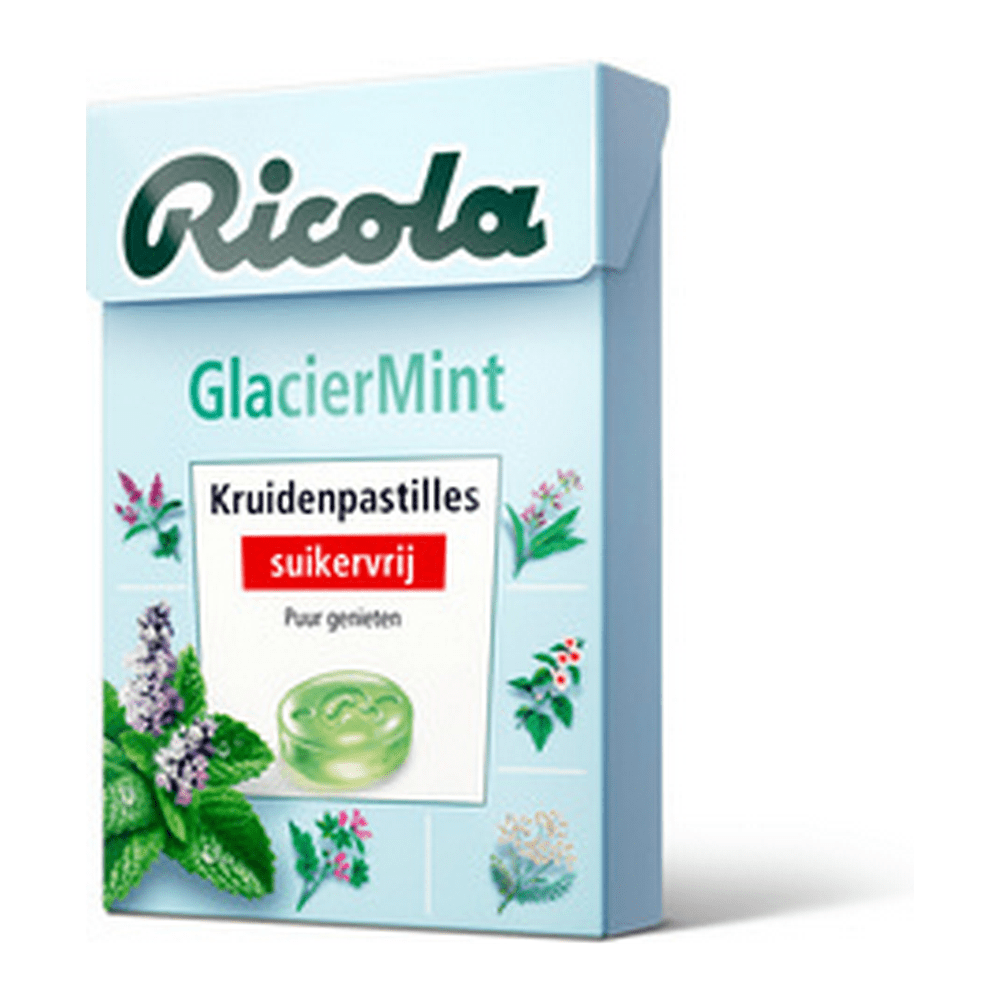 Ricola | Glacier Mint | 12 doosjes
