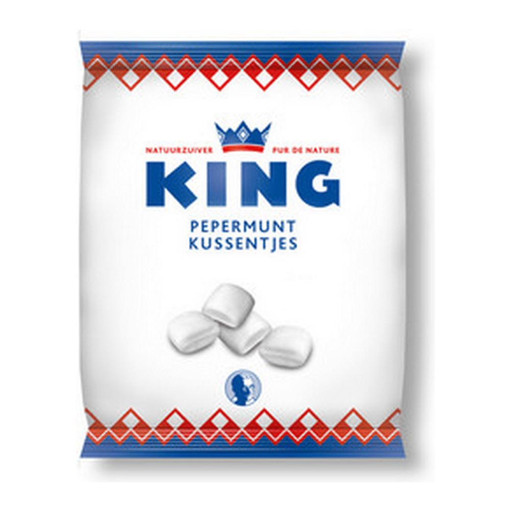 King | Pepermuntkussentjes | 12 x 175 gram