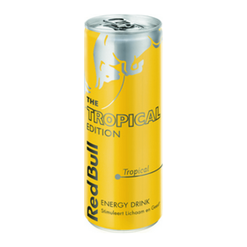 Red Bull Tropical Edition | Blik 12 x 250 ml