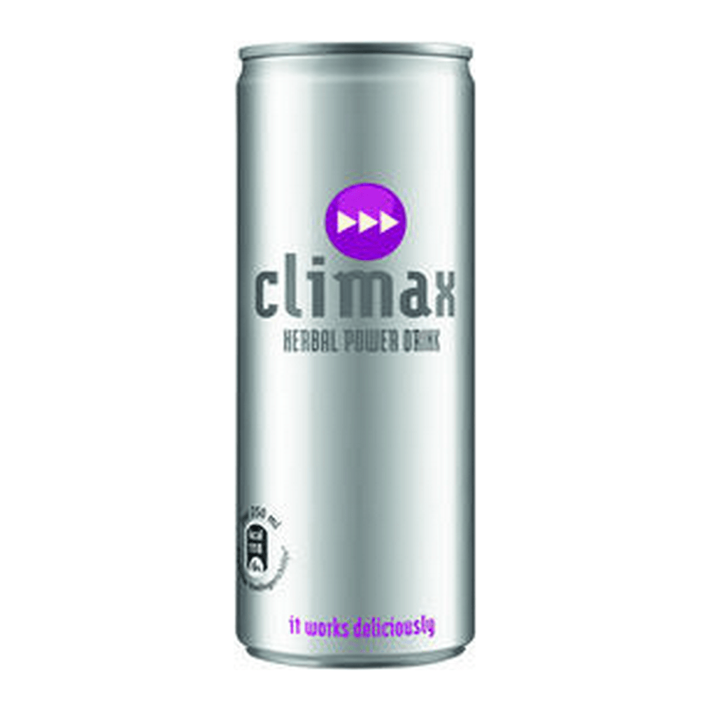 Climax Energydrink | Blik 12 x 250 ml