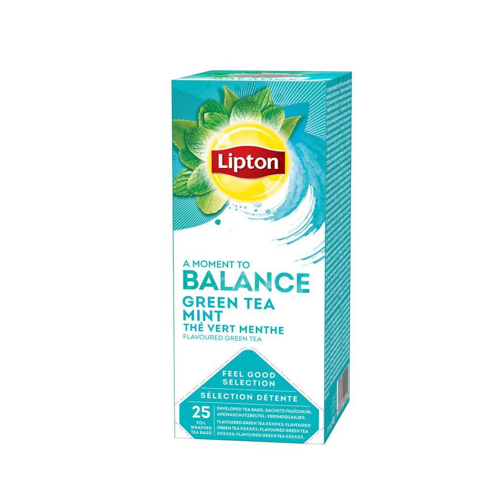 Lipton Green Tea Mint 6 x 25 stuks
