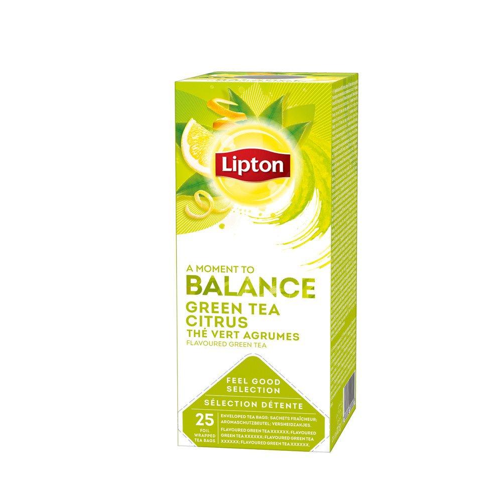 Lipton | Green Tea Citrus | 6 x 25 zakjes