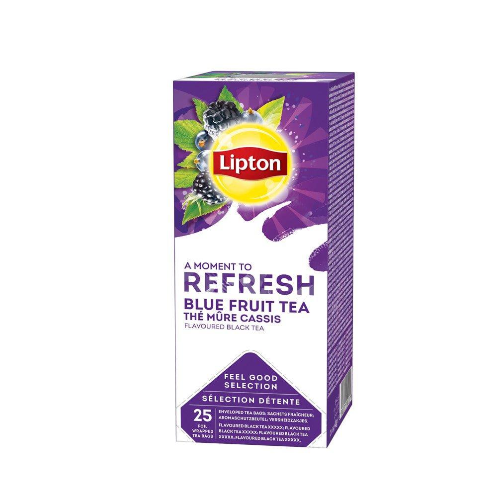 Lipton Thee Blue Fruit 6 x 25 zakjes