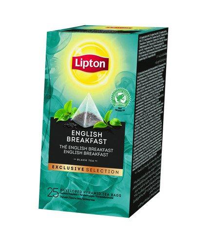 Lipton Tea | Exclusive Selection | English Breakfast | Doos 6 x 25