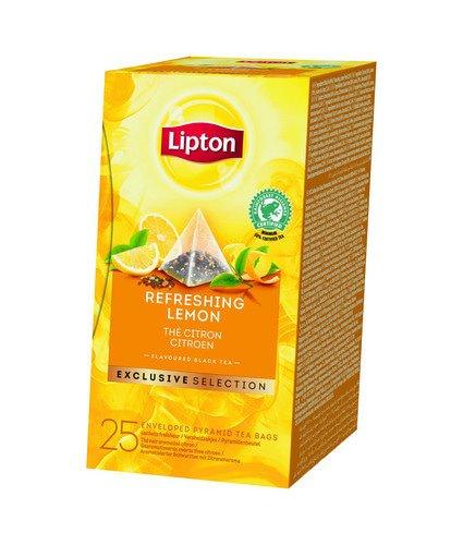 Lipton Tea | Exclusive Selection | Citroen | Doos 6 x 25 stuks