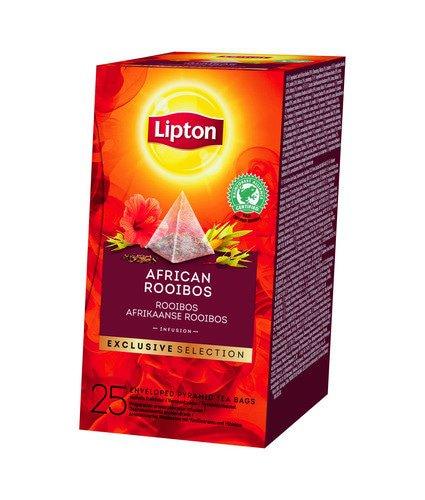 Lipton Tea | Exclusive Selection | African Rooibos | Doos 6 x 25 stuks