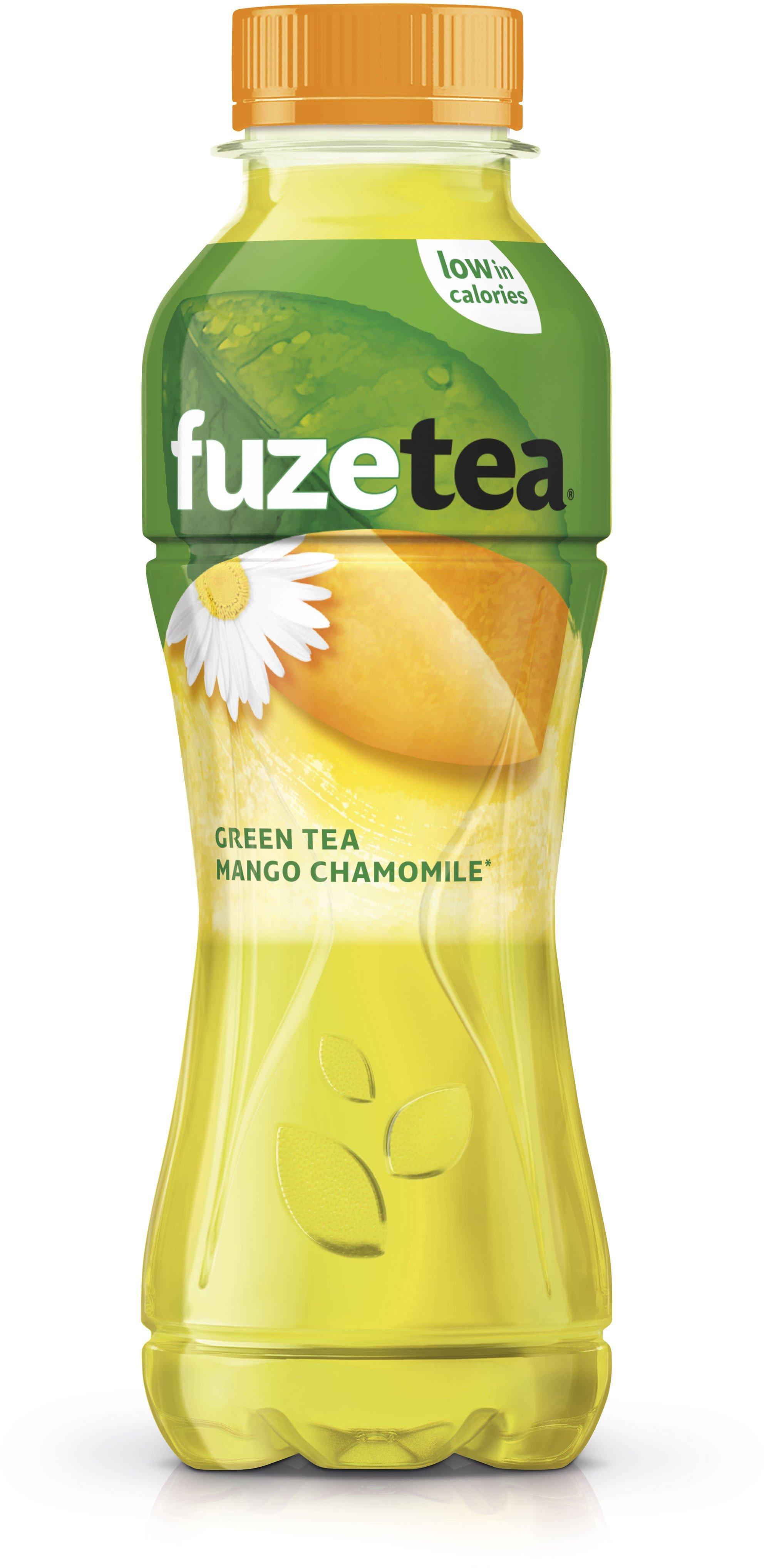 Fuze Tea Black Green Tea Mango Chamomile | 12 x 0,4 liter