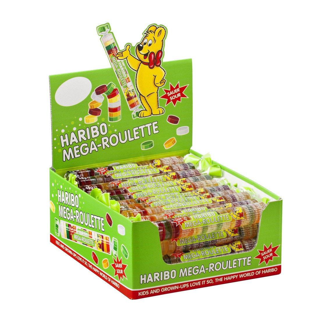 Haribo | Mega Roulette | Zuur | 40 stuks