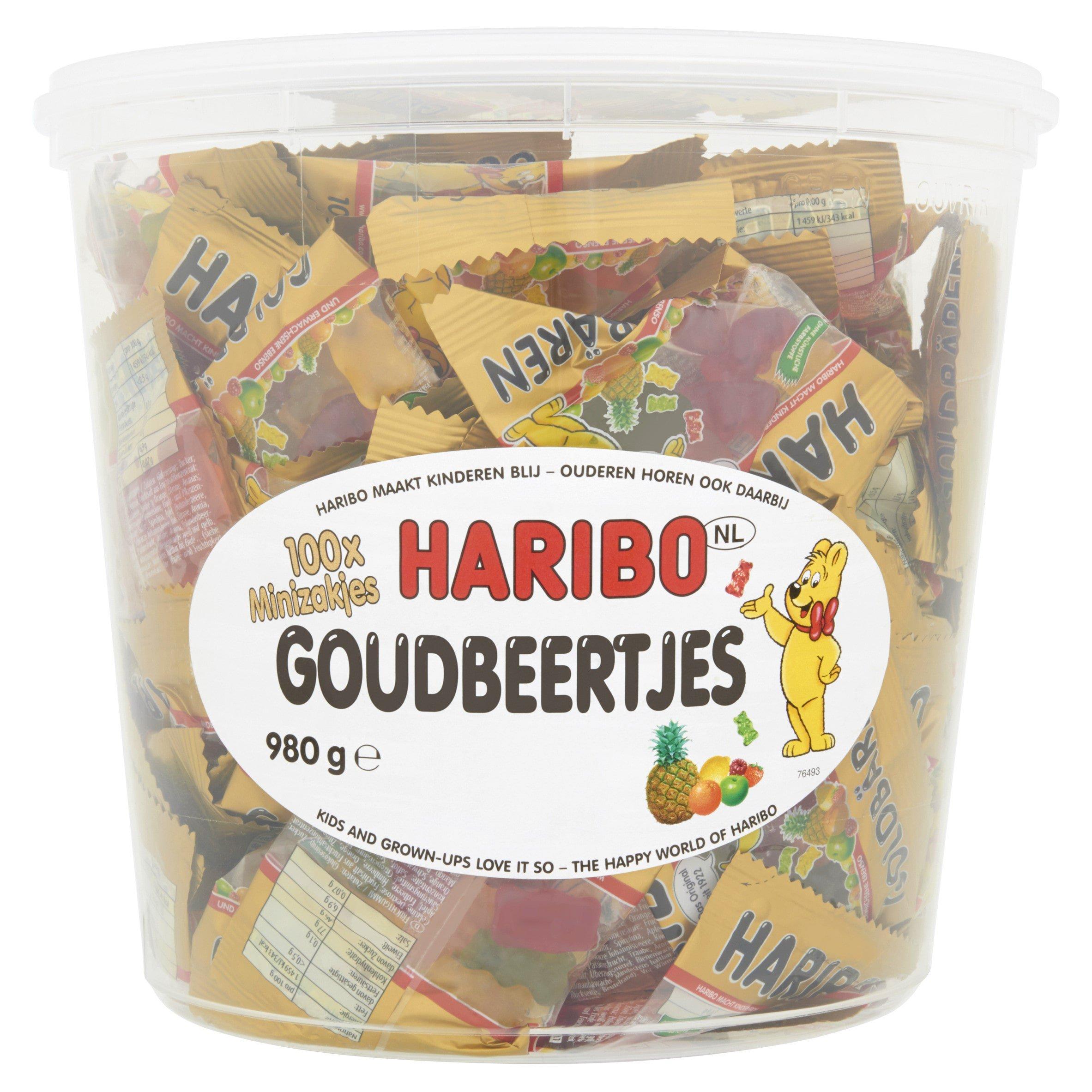 Haribo | Goudberen | 100 zakjes