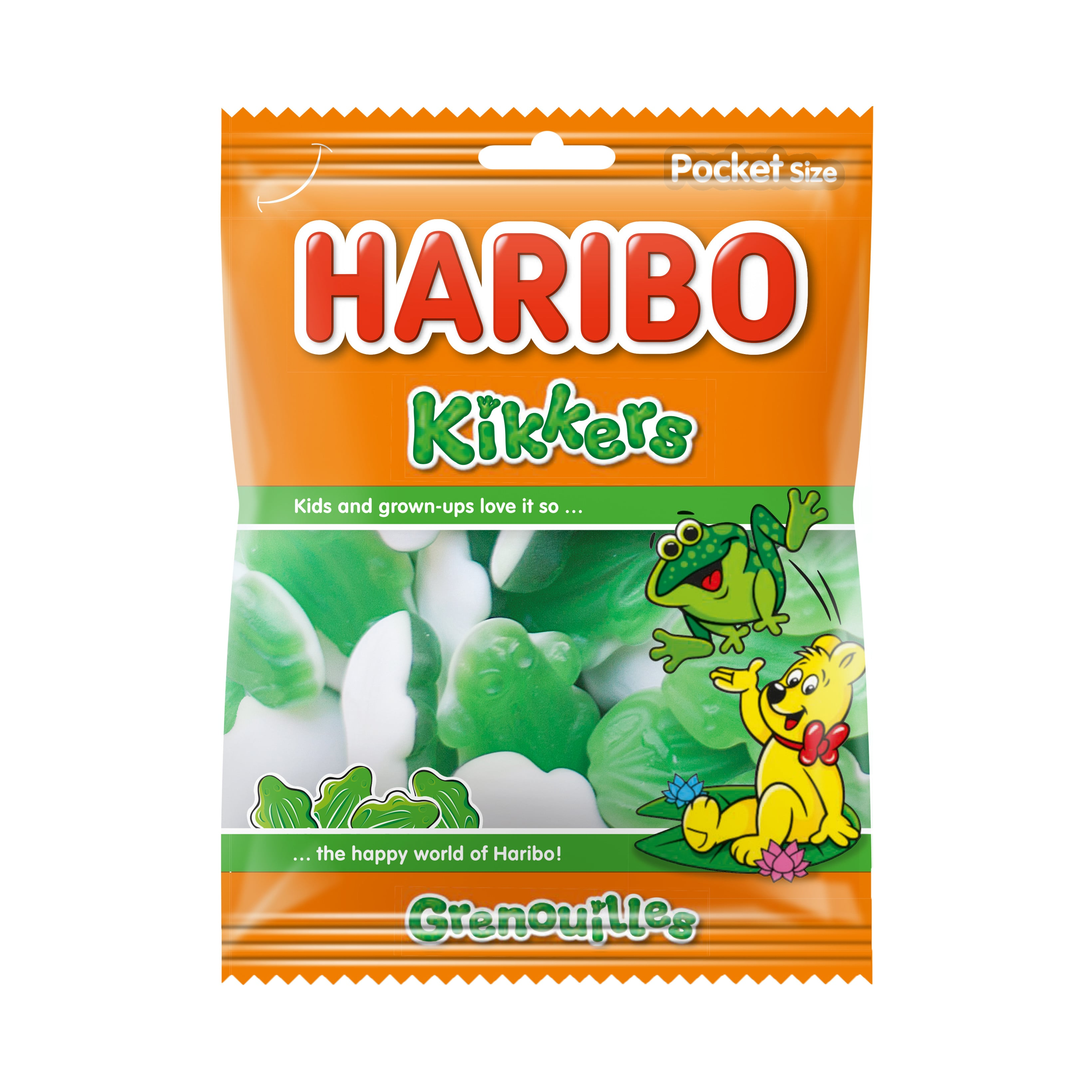 Haribo | Kikkers | 28 x 75 gram