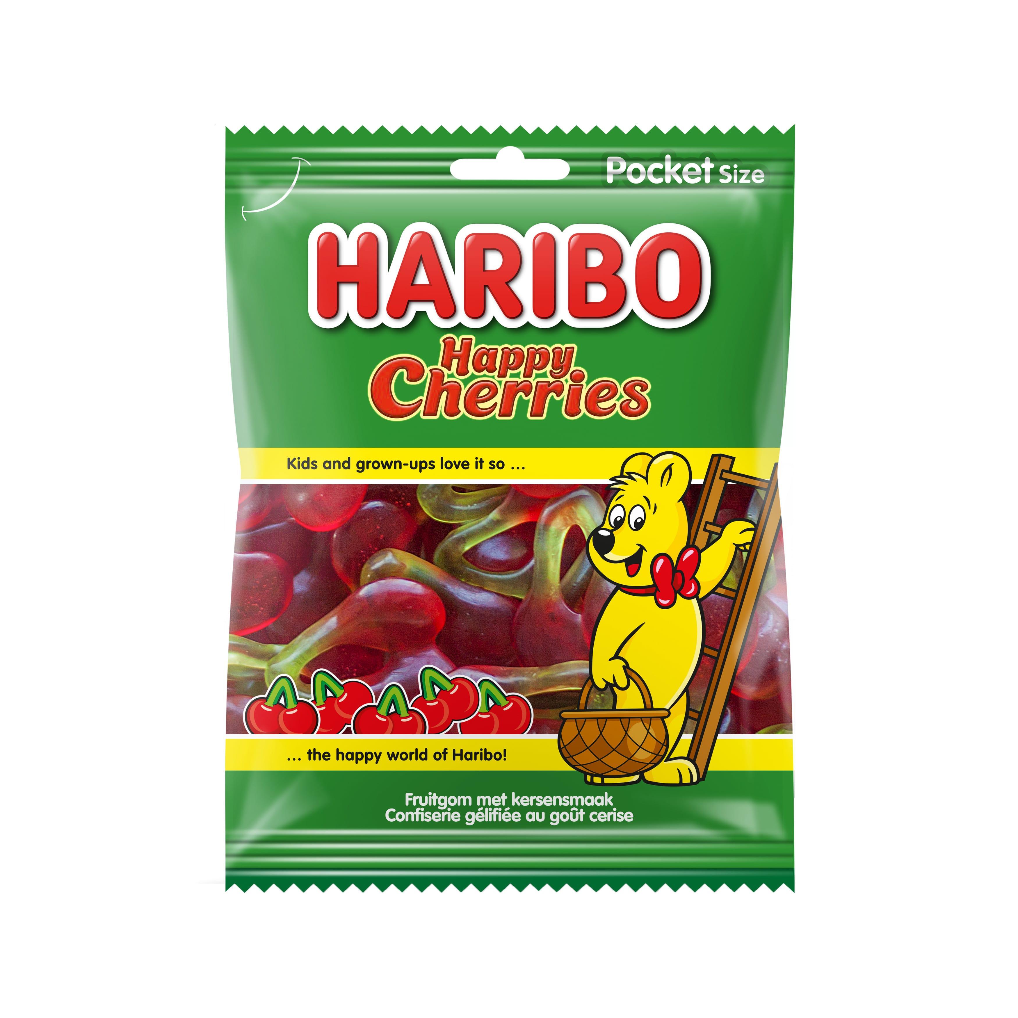 Haribo | Happy Cherries | 28 x 75 gram