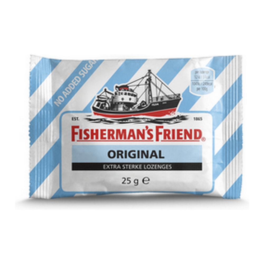 Fisherman's Friend Original Extra Strong suikervrij 24 zakjes