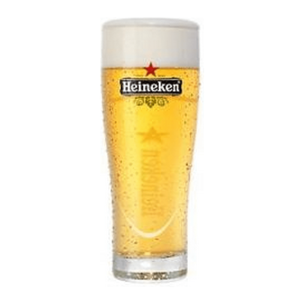 Heineken   Ellipse glazen   6 x 25 cl