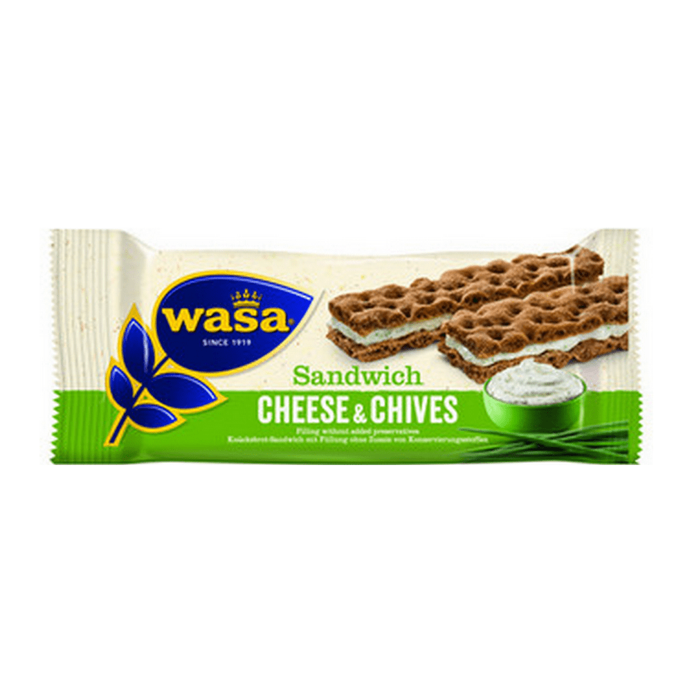Wasa Sandwich Cream Cheese & Chives 37 gr 24 repen