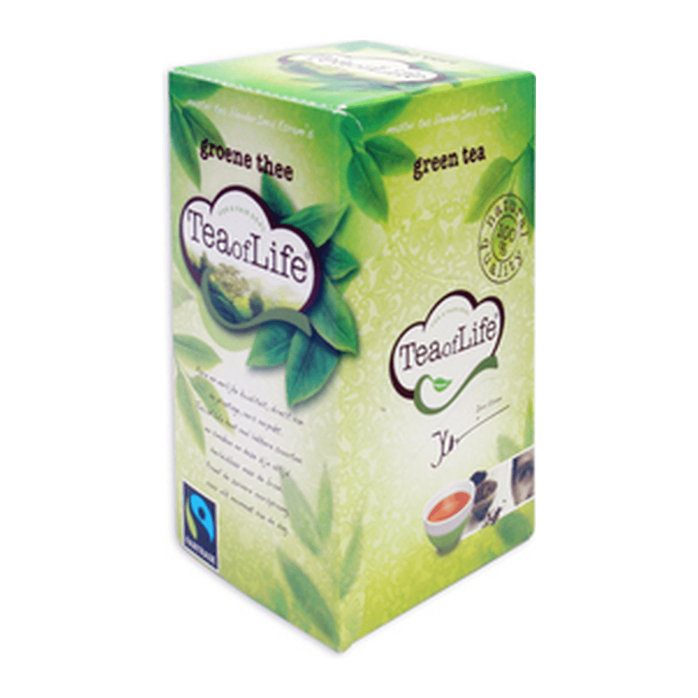 Tea of life Green Tea 80 zakjes