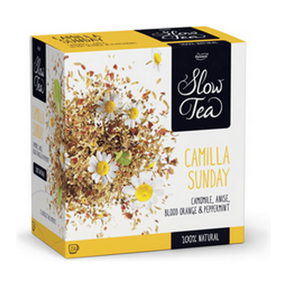 Pickwick | Slow Tea | Camilla Sunday | 3 x 25 stuks