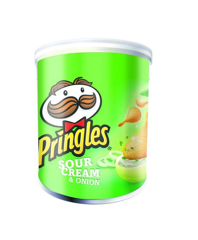 Pringles | Sour Cream & Union | 12 stuks