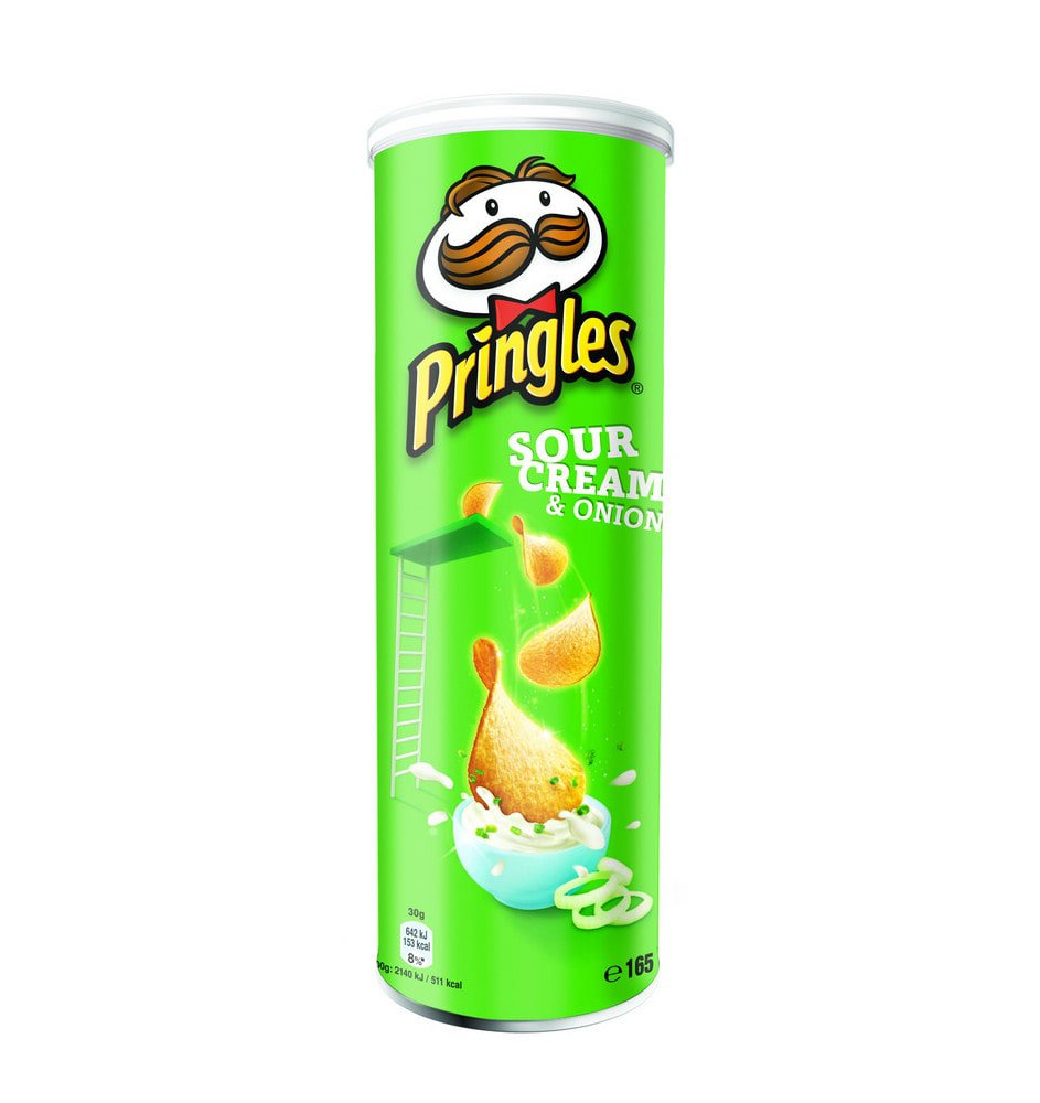 Pringles | Sour Cream & Onion | 19 stuks