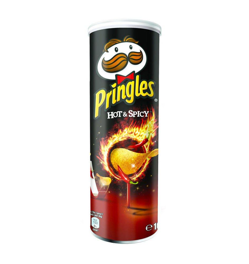 Pringles | Hot & Spicy | 19 stuks