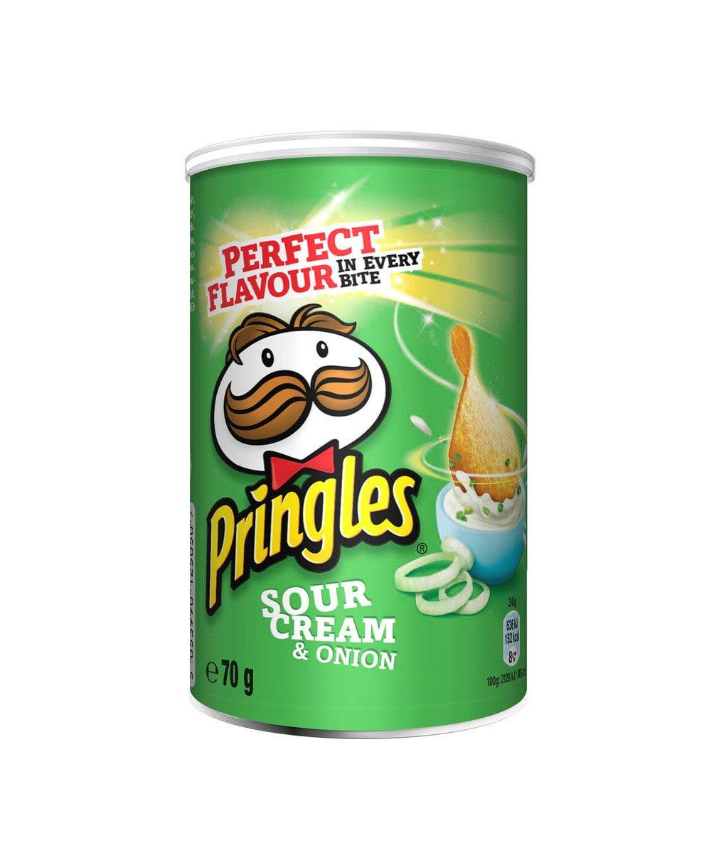 Pringles | Sour Cream & Onion | 12 x 70 gram