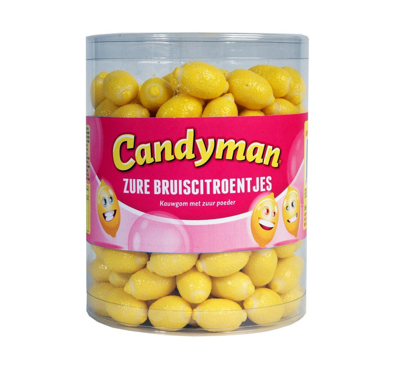 Candyman | Zure bruis citroentjes