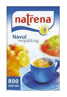 Natrena | Classic | zoetjes | Navulling 6 x 800 stuks
