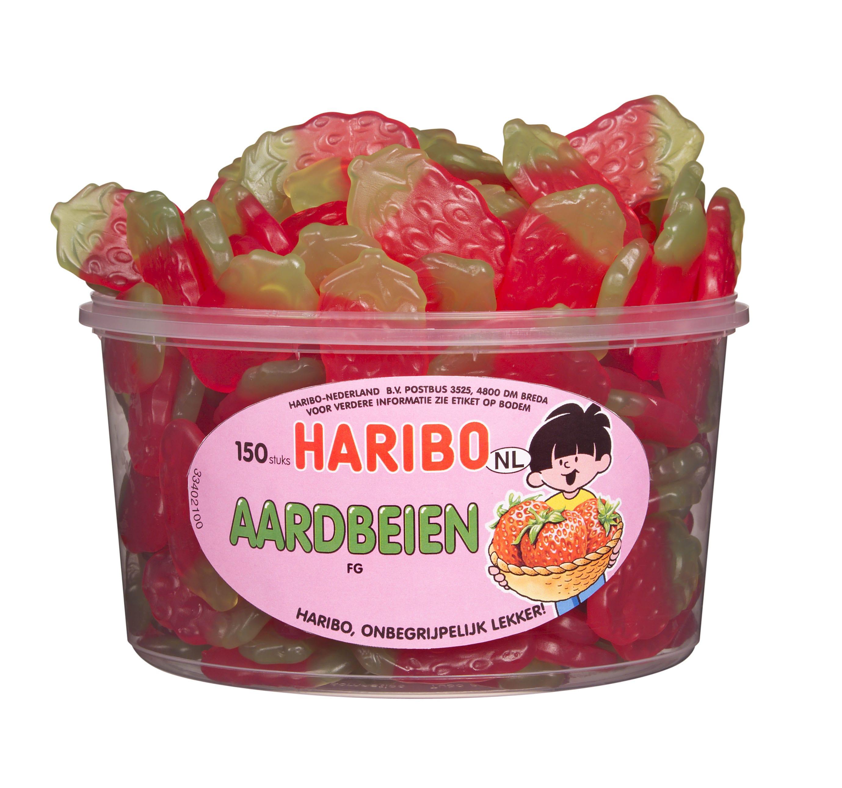 Haribo | Aardbeien | 150 stuks