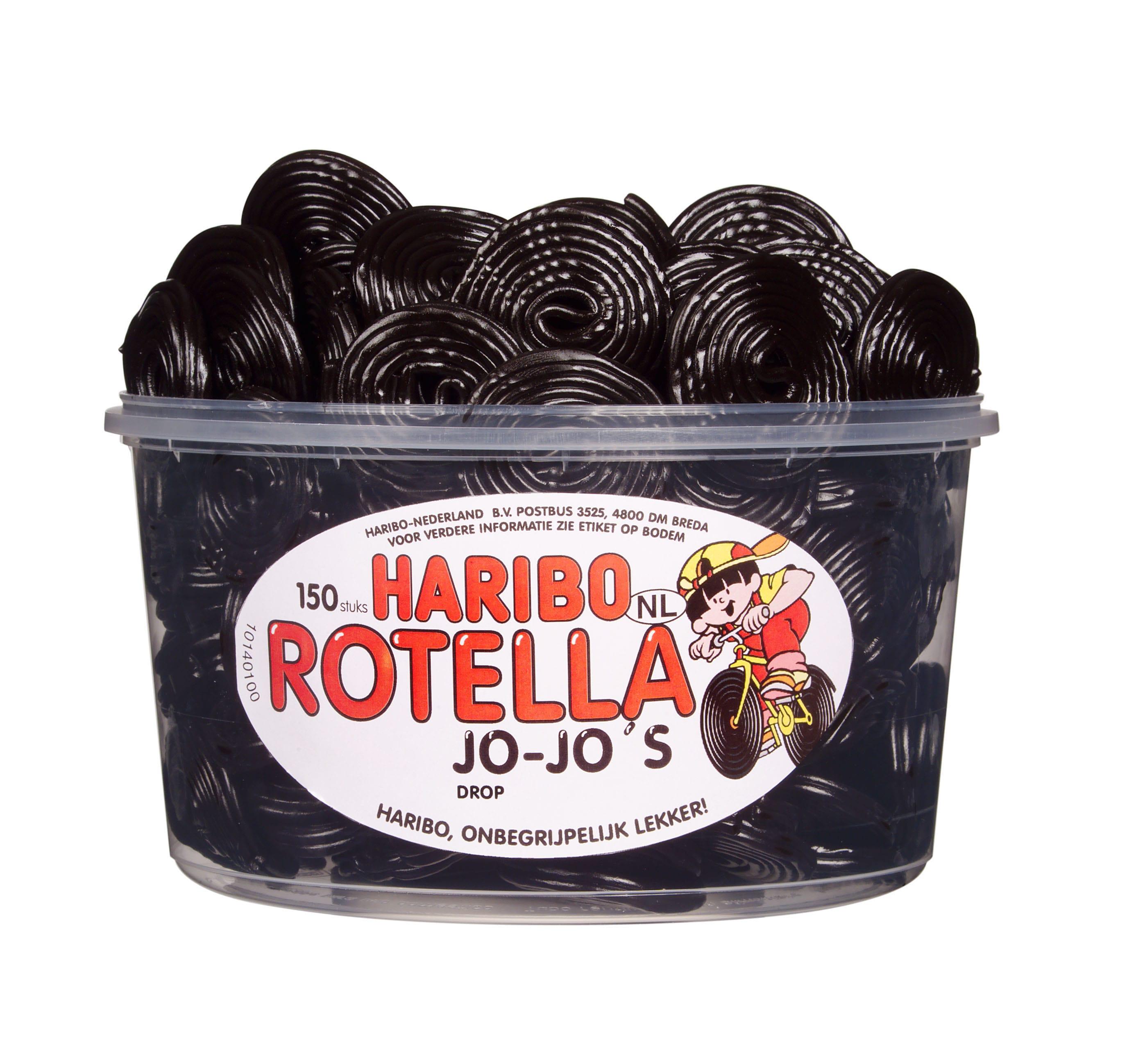 Haribo | Rotella Jo-Jo's | 150 stuks