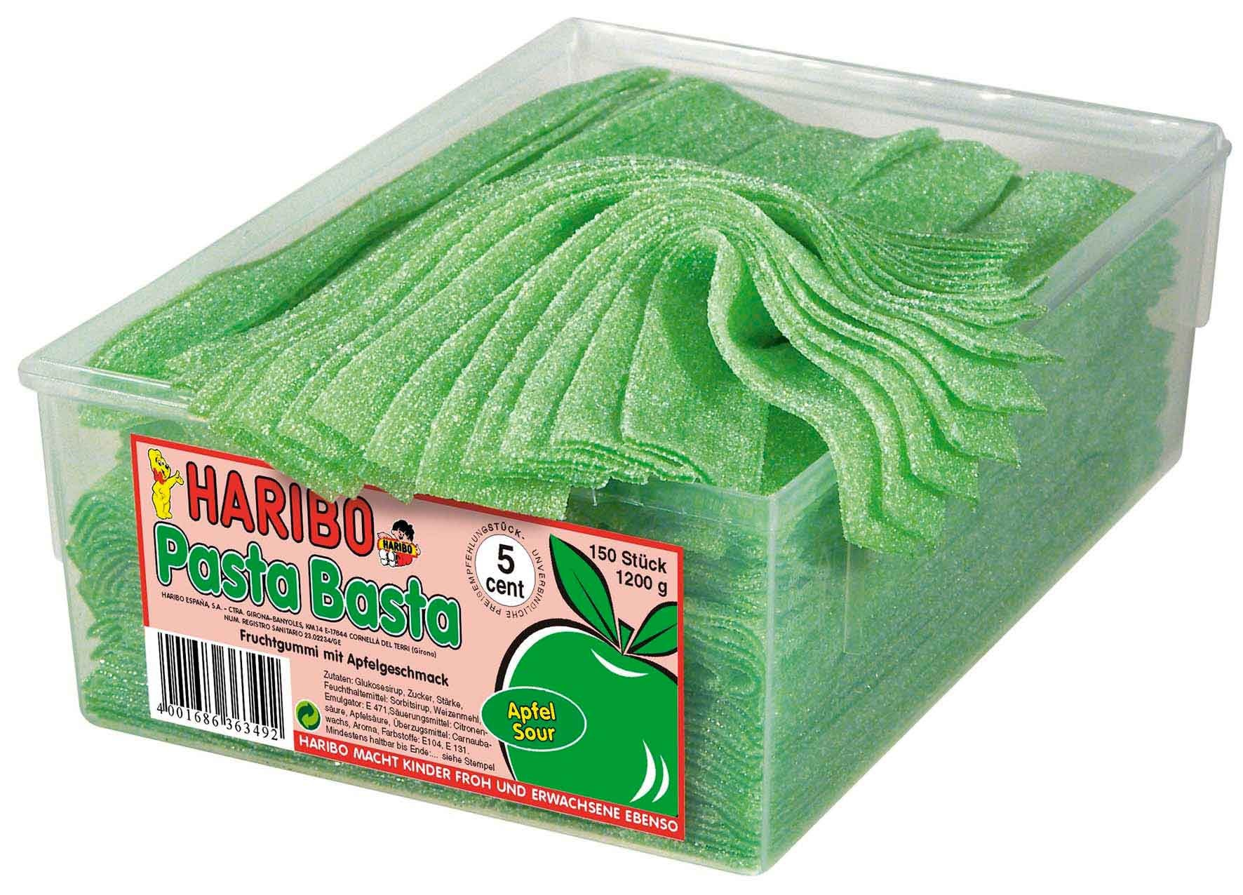 Haribo | Pasta Basta | Appel | 150 stuks