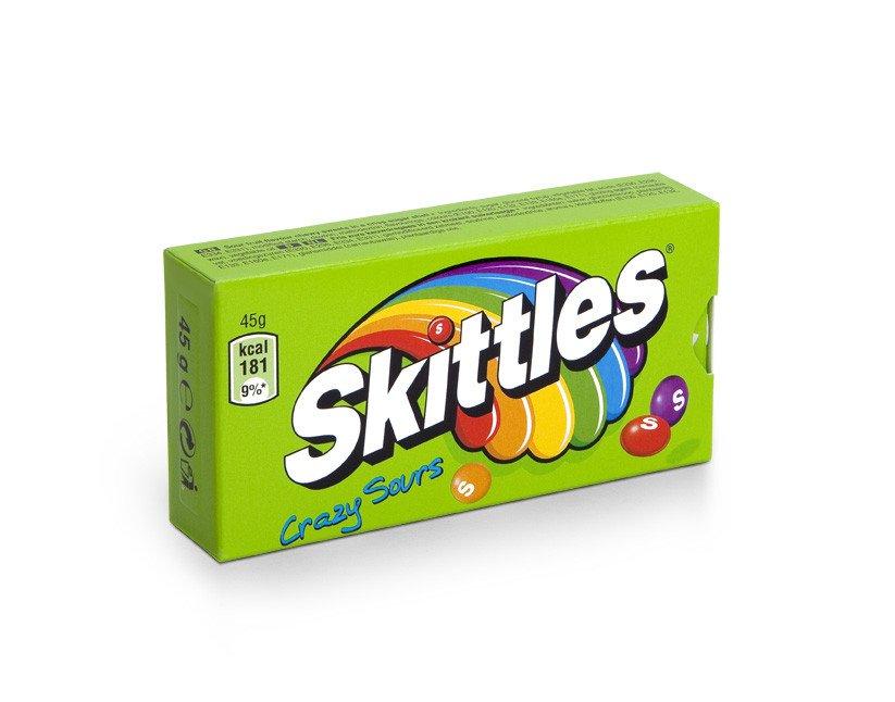 Skittles | Crazy Sours | 16 stuks