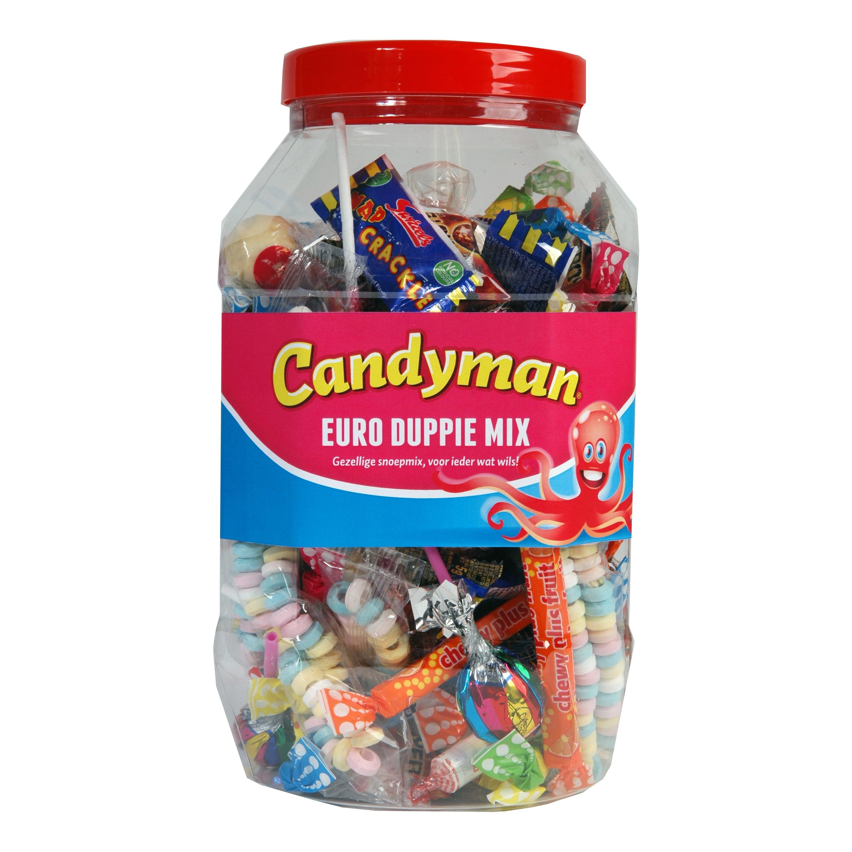 Candyman | Euro Duppie Mix | 100 stuks