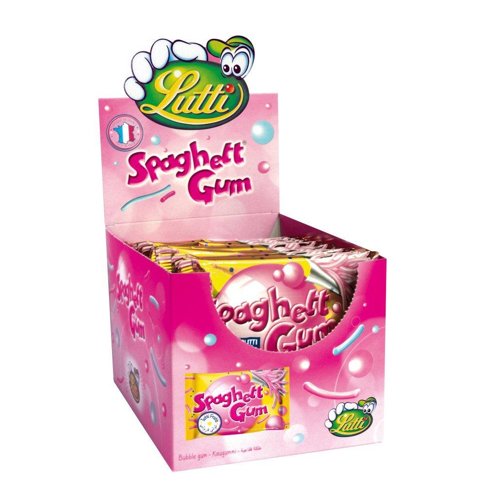 Lutti | Spaghetti Gum | 24 stuks