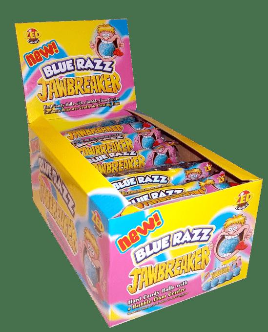 Jawbreaker | Blue Razz | 5-pack | 40 stuks