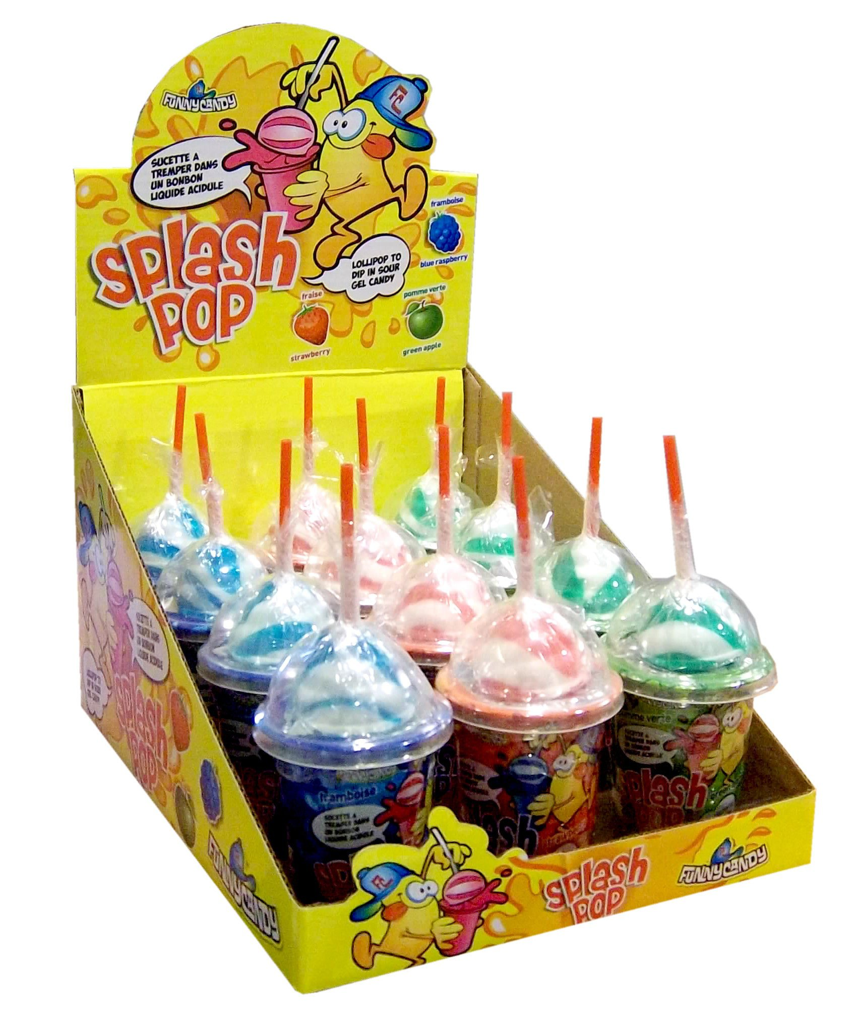 Funny Candy | Splash Pop | 12 stuks